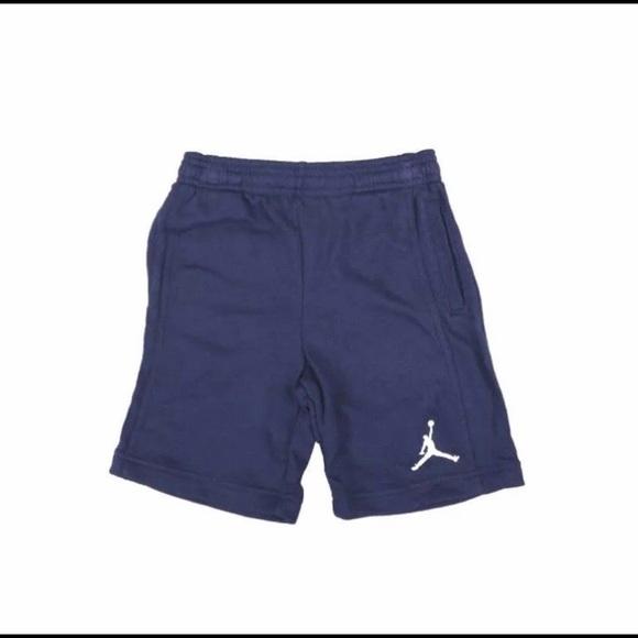 9757b3eb5eb Jordan Bottoms | Dark Blue French Terry Cotton Jogger Shorts | Poshmark